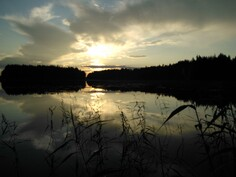 Ilta-auringon viime säteet