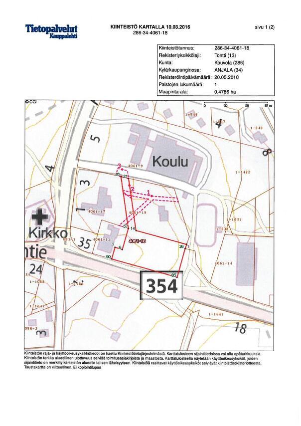 Myydaan Muu Kouvola Anjala Anjalantie 3 Etuovi Com 1173656