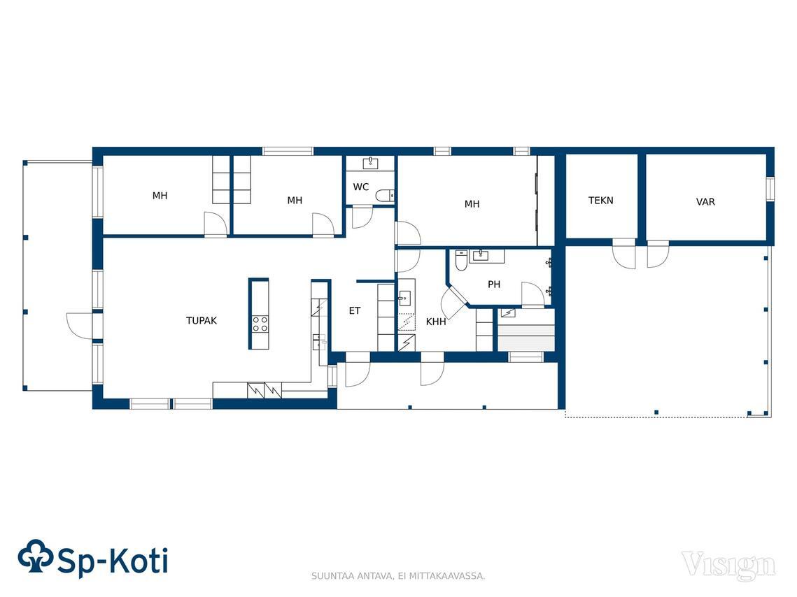Myydaan Omakotitalo 4 Huonetta Kuopio Hiltulanlahti
