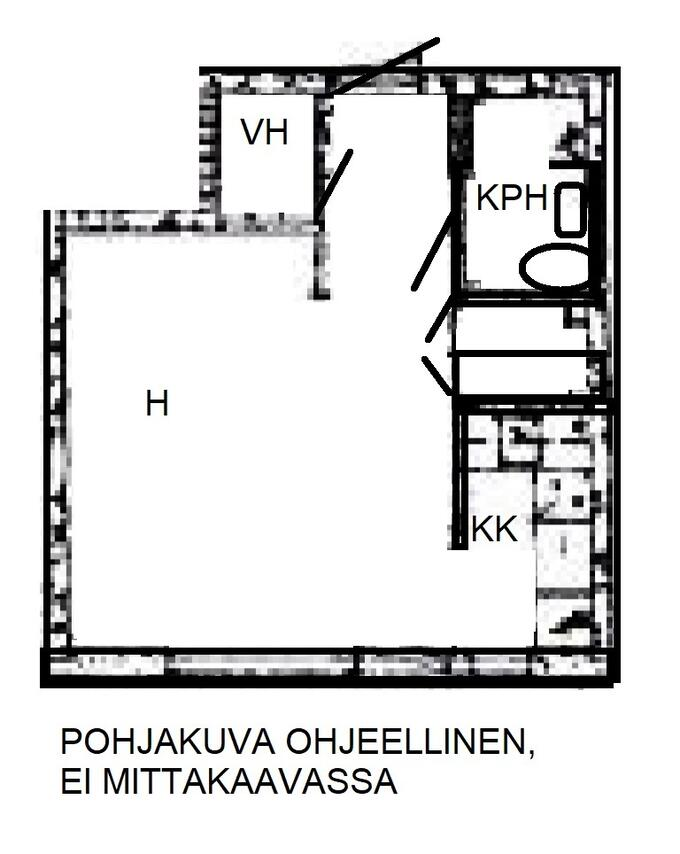 Helsinki Yksiö
