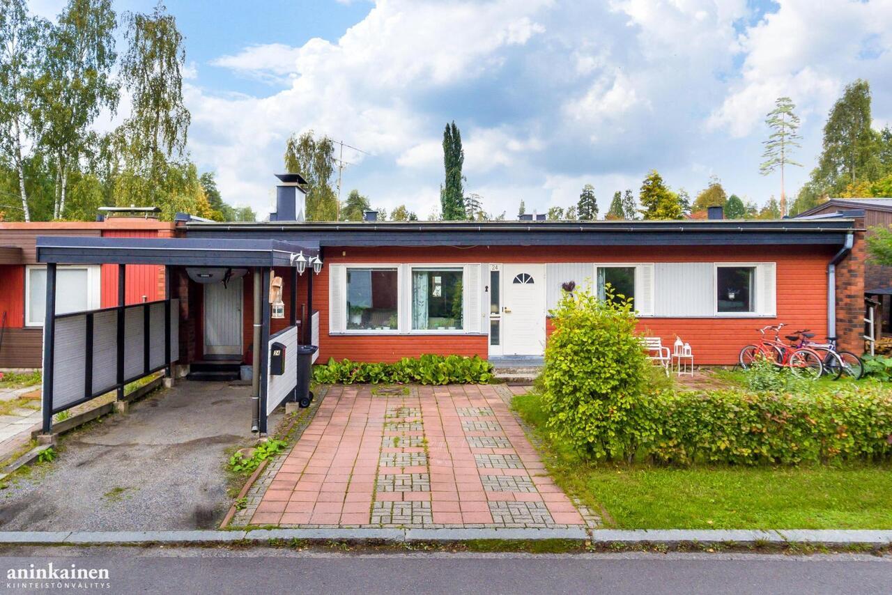 Myydaan Omakotitalo 4 Huonetta Tampere Lukonmaki