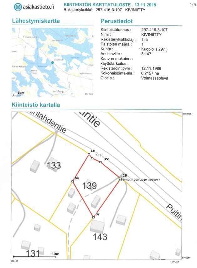 Myydaan Muu Kuopio Jannevirta Puitinlahdentie 93 Etuovi Com