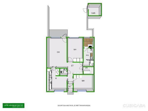 Myydaan Rivitalo 3 Huonetta Keminmaa Lautiosaari Pajukuja 3