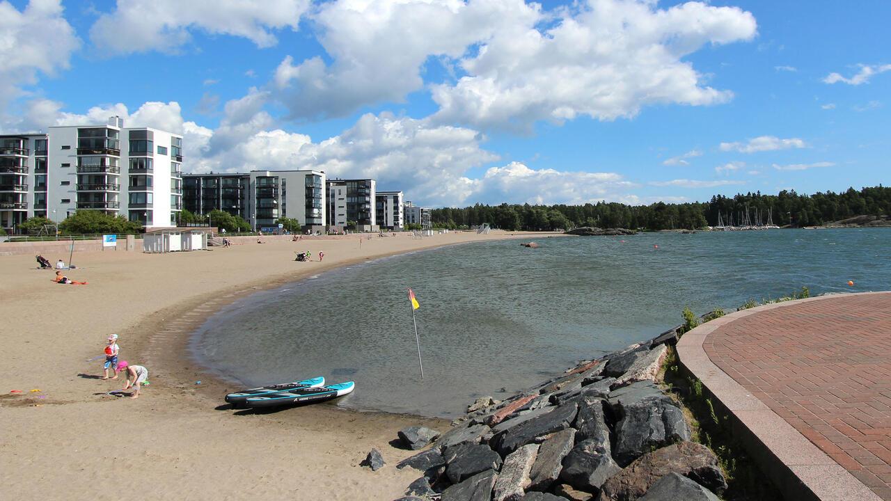 Ulkoilualueet Helsinki