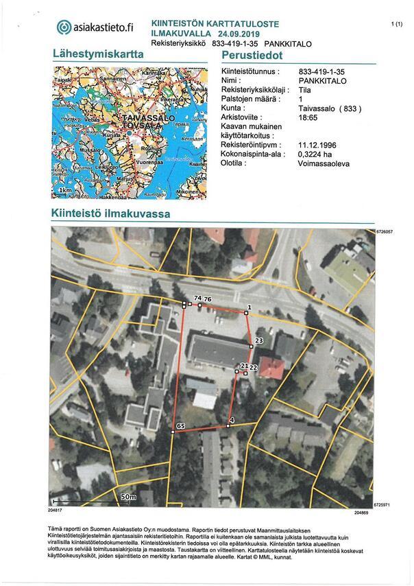 Myydaan Omakotitalo 5 Huonetta Taivassalo Ydinkeskusta