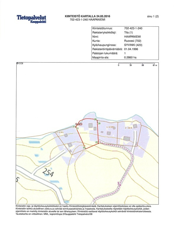 Myydään Mökki tai huvila Kaksio - Ruovesi Väärinmaja Vastalahdentie ... 1488c24280