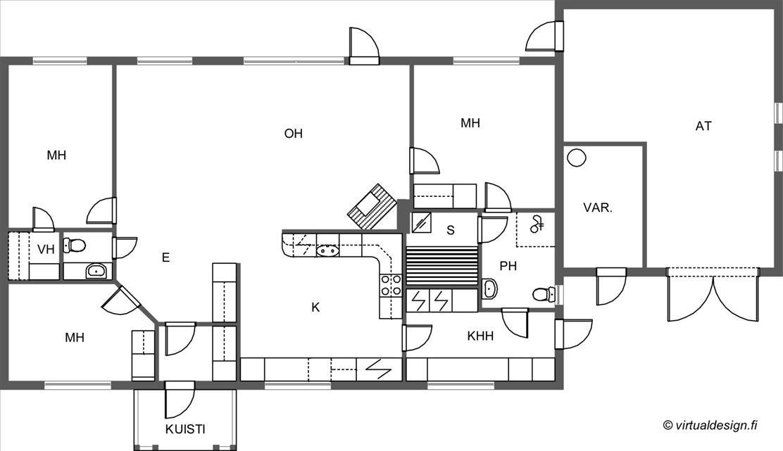 Myydään Omakotitalo 4 huonetta  Kaavi Retunen Honkalahdentie 40  Etuovi com