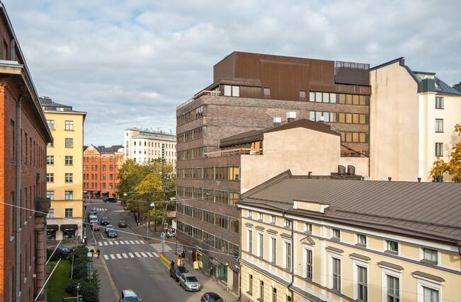 Myydaan Kerrostalo 4 Huonetta Helsinki Kamppi Kalevankatu 36