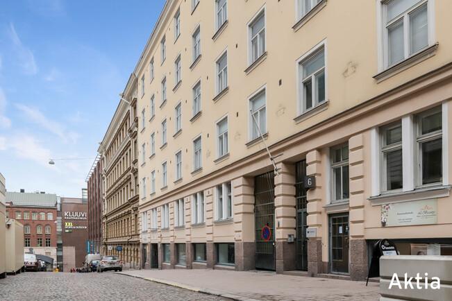 For Sale Apartment House 2 Rooms Helsinki Kluuvi Vuorikatu 6