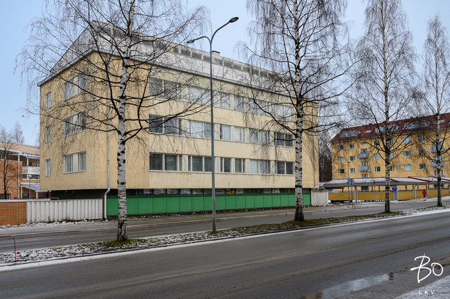 For Sale Apartment House 1 Room Oulu Keskusta Heikinkatu 23