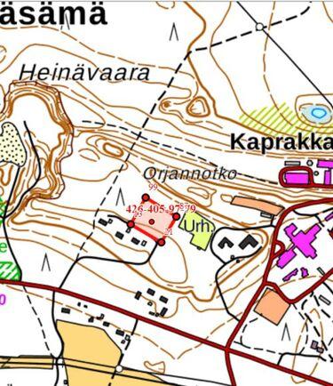 Myydaan Omakotitontti Liperi Kasama Heinavaara 6 Etuovi Com N43272