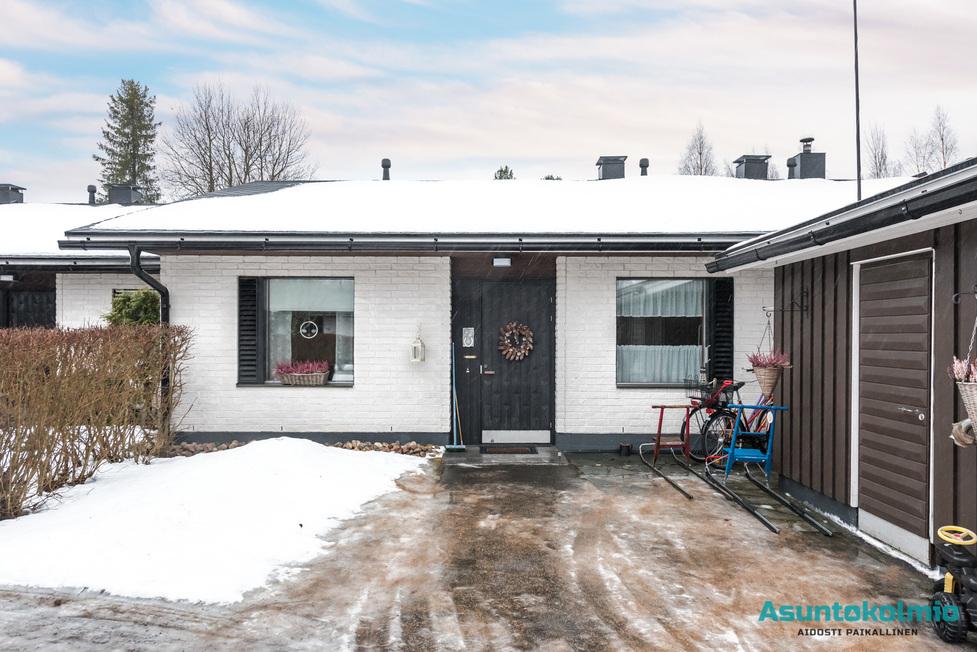 Myydaan Rivitalo 3 Huonetta Oulu Herukka Leppiojankuja 6