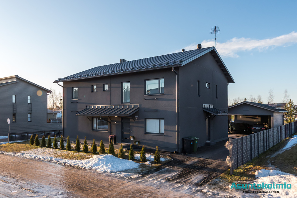 For Sale Detached House More Than 5 Rooms Oulu Ritaharju