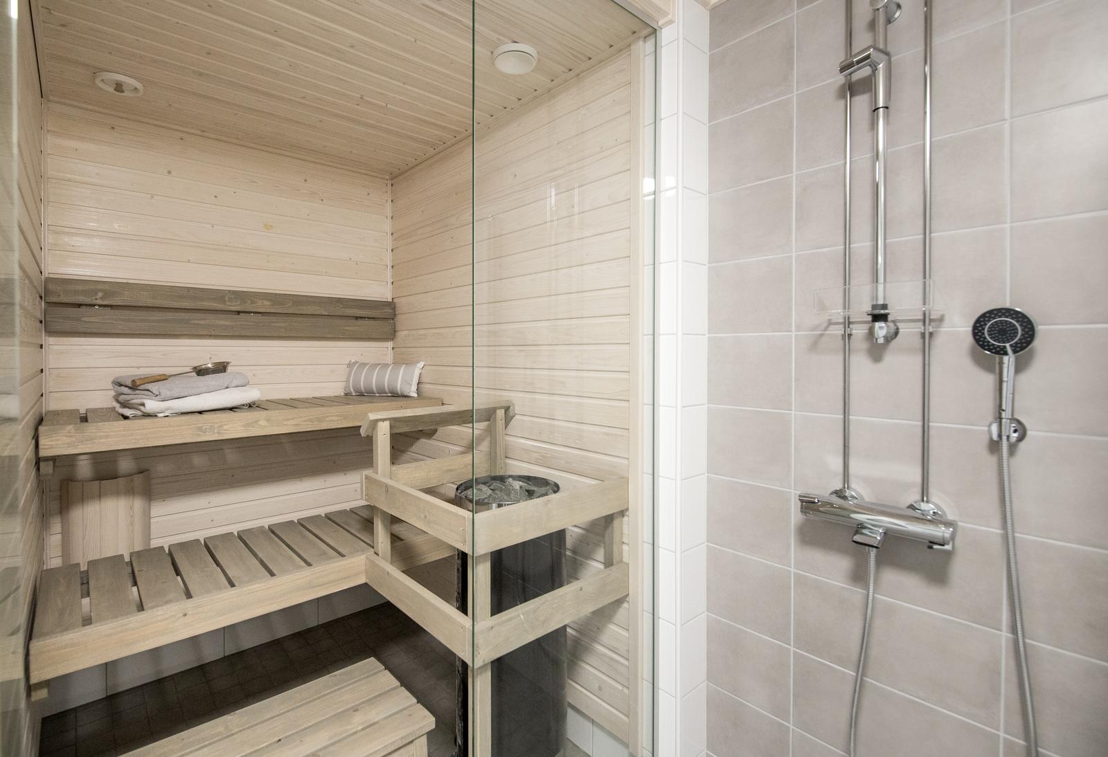 Mainio kaunis sauna