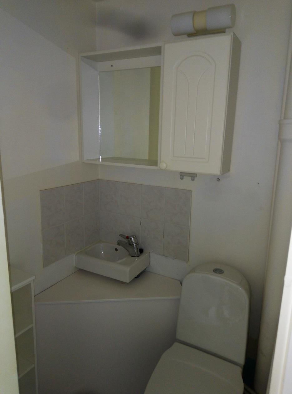 Yksiön wc