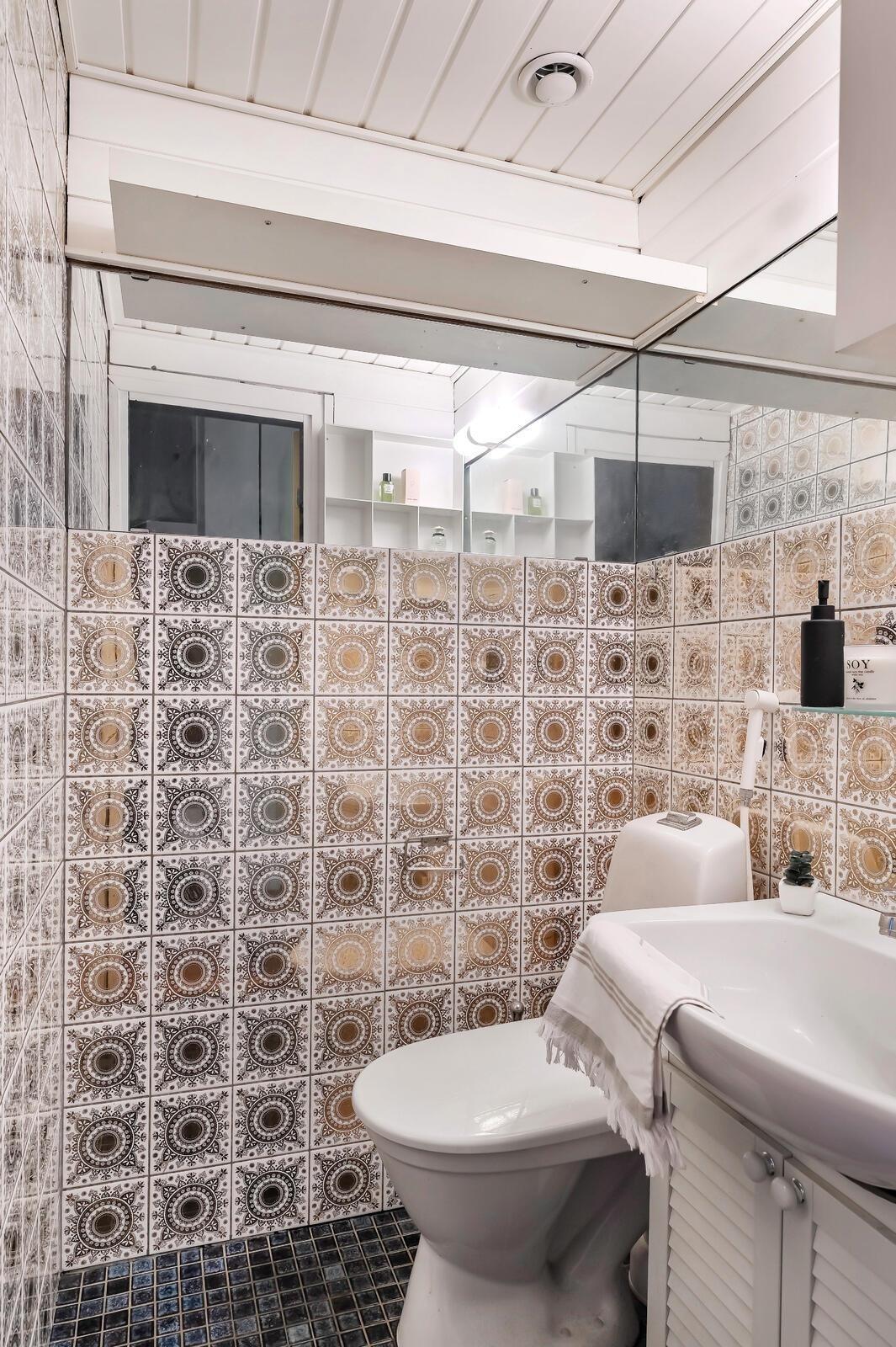 Ylimmän kerroksen wc