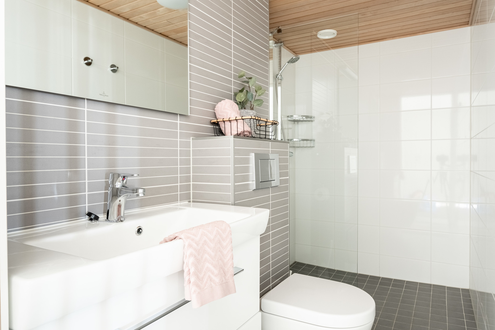 Eteisen kylpyhuone