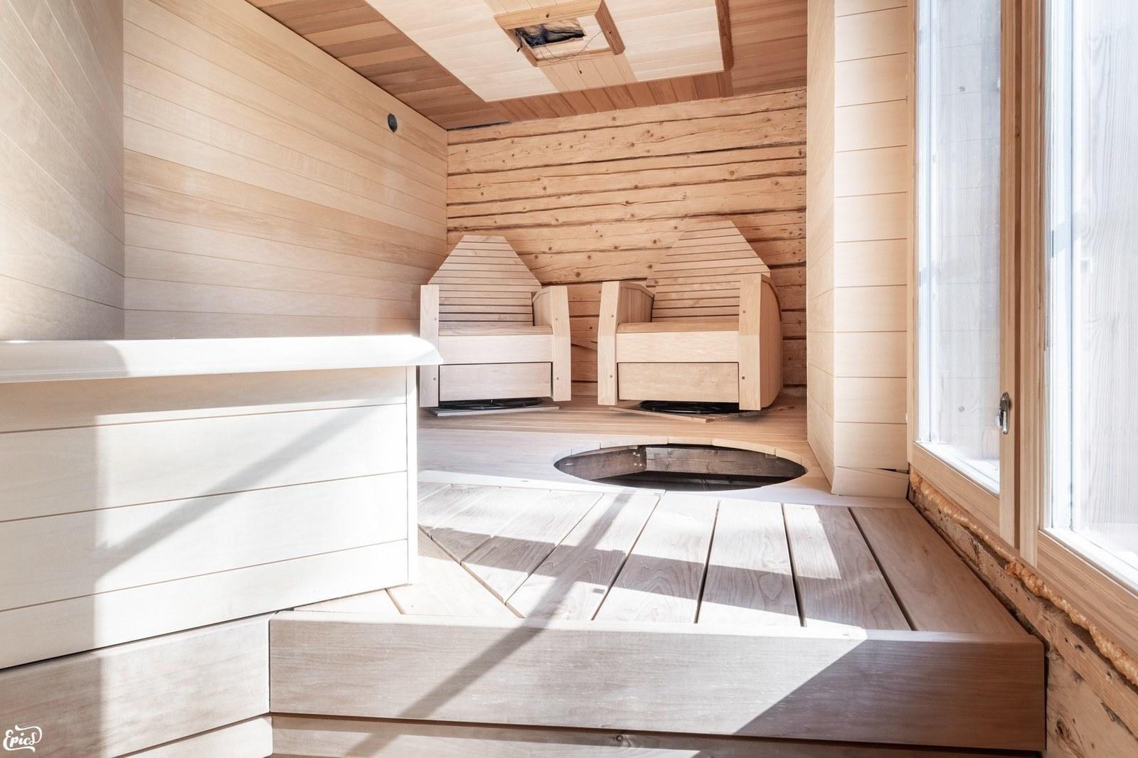 Keskeneräinen sauna