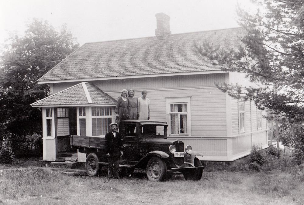 Alkuperäinen vanha talo