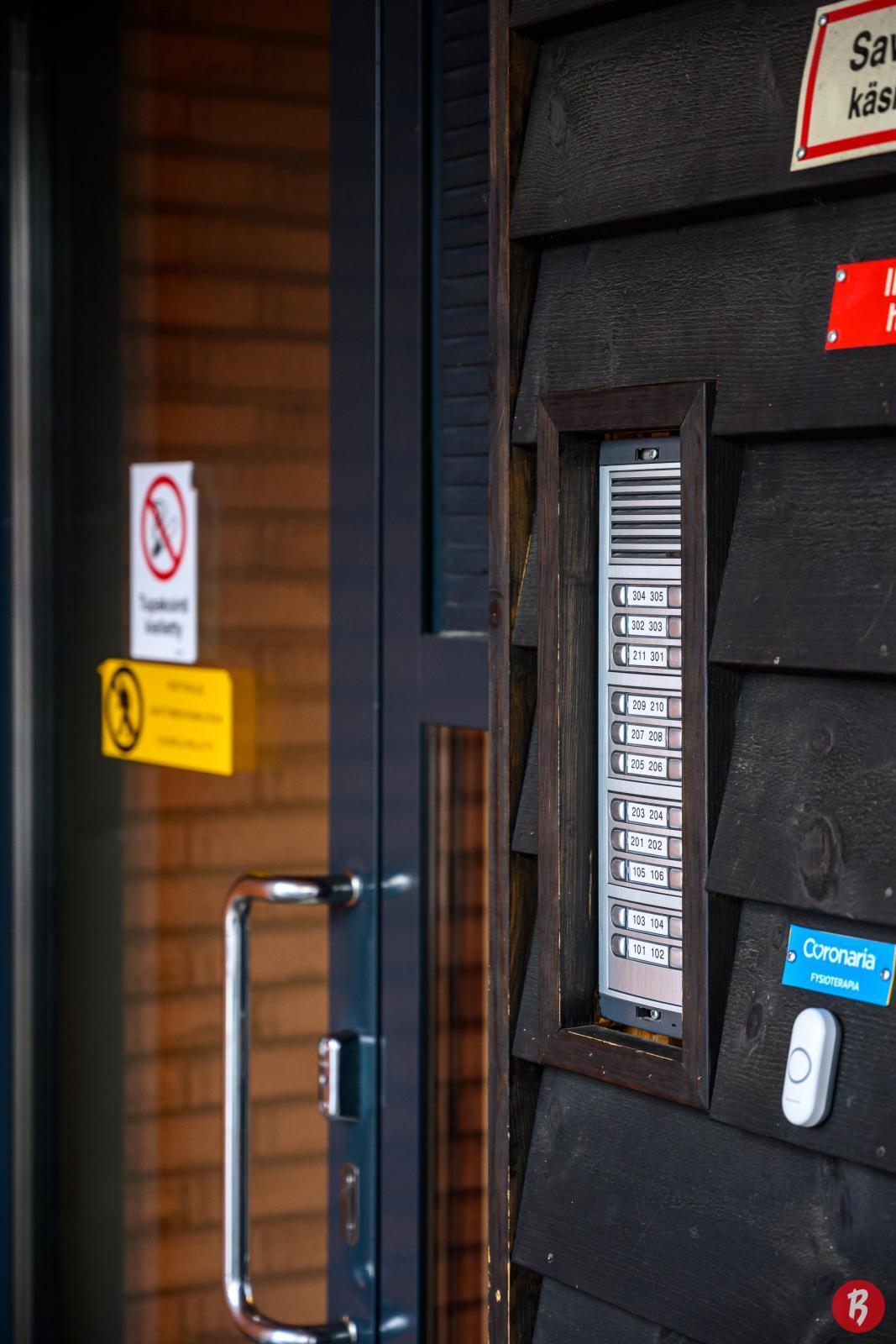 Huoneistolle oma ovipuhelin