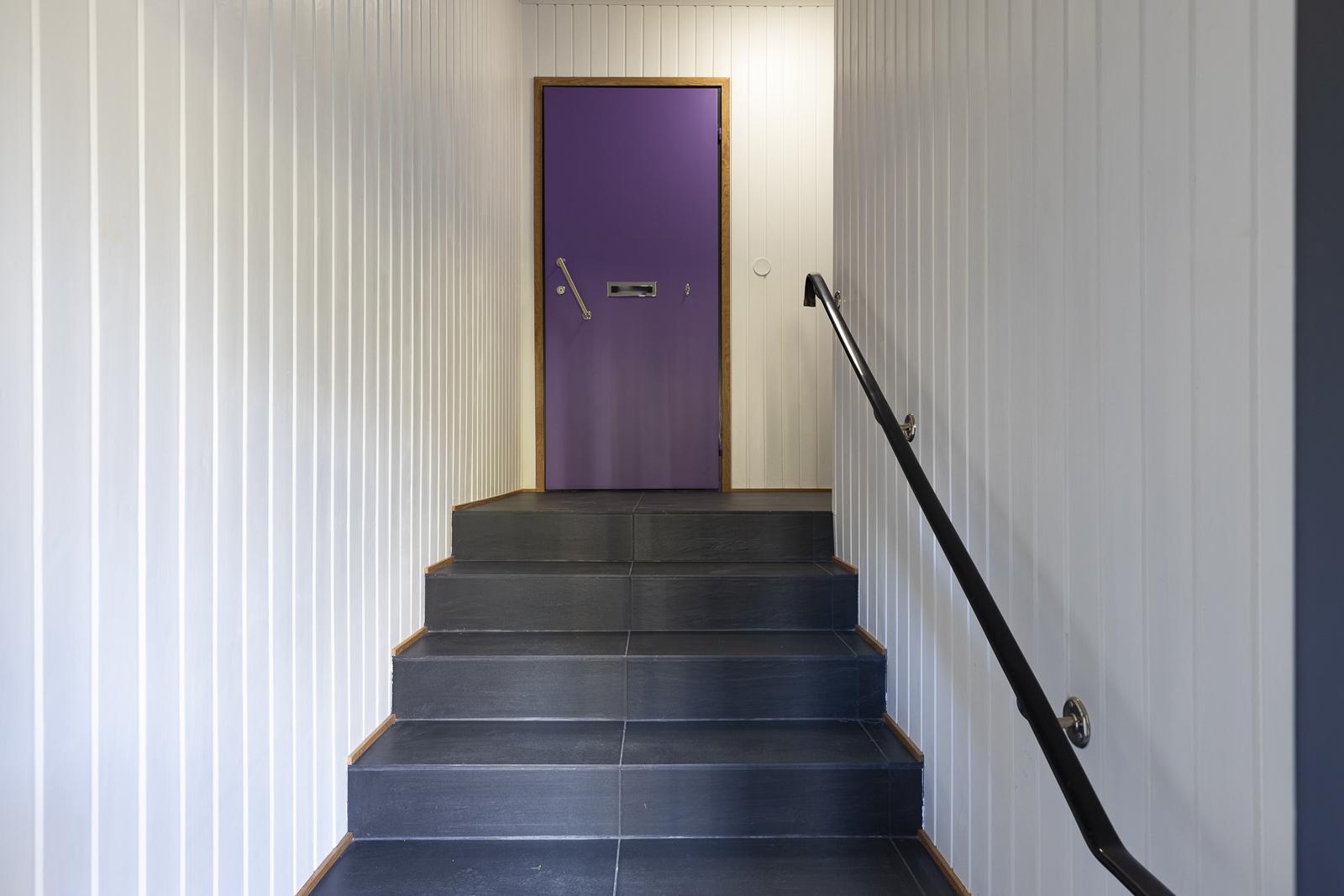 Huoneistojen portaikko
