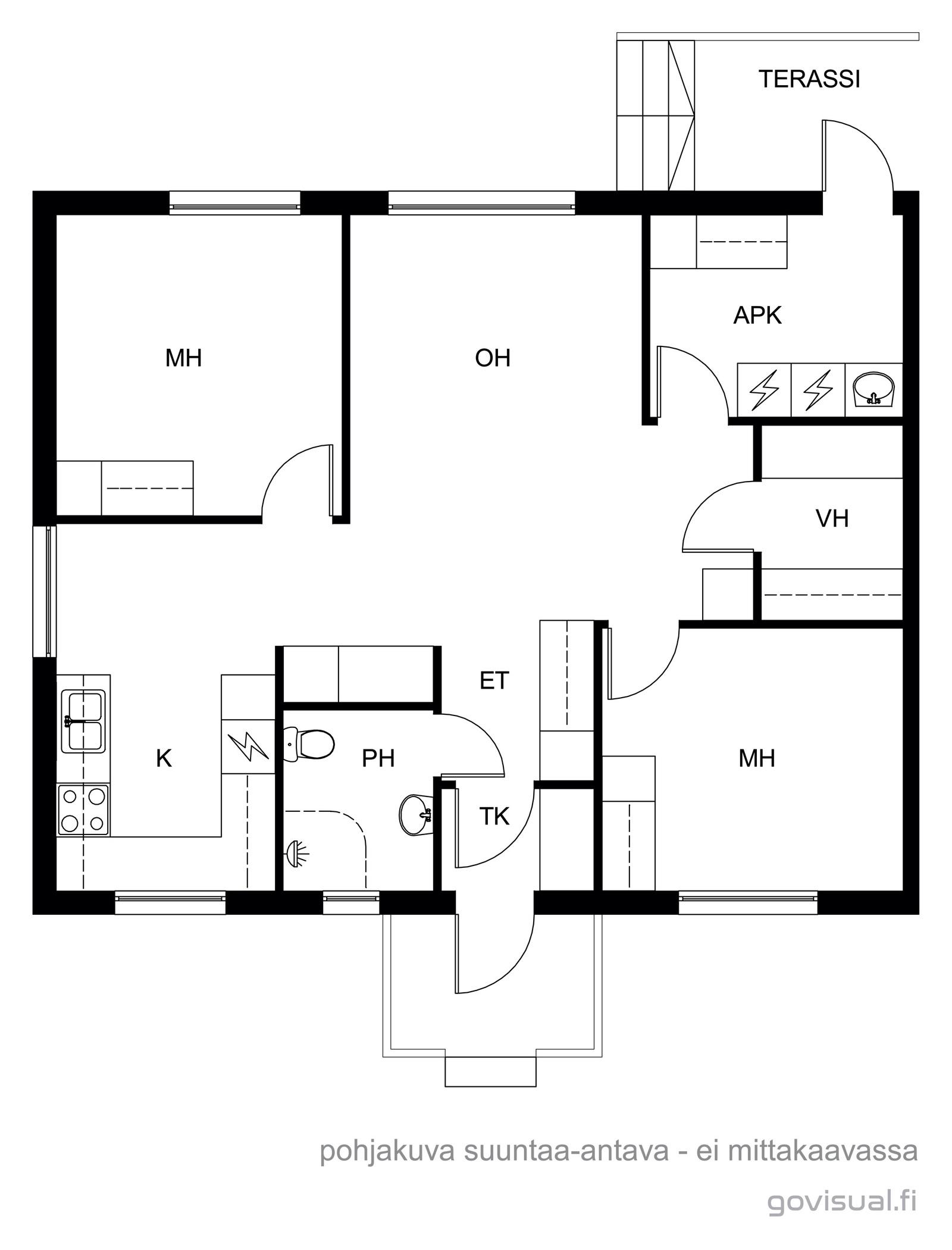 asunto 2, 69,5 m2