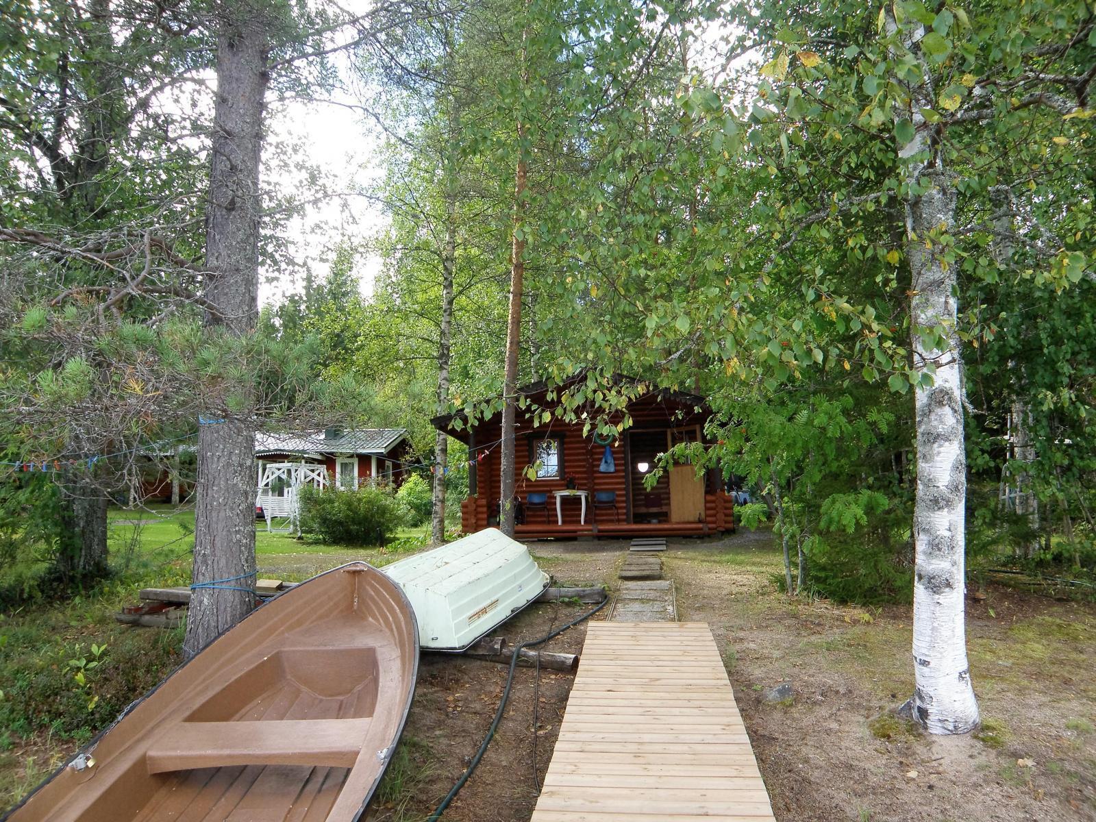 laiturilta saunalle