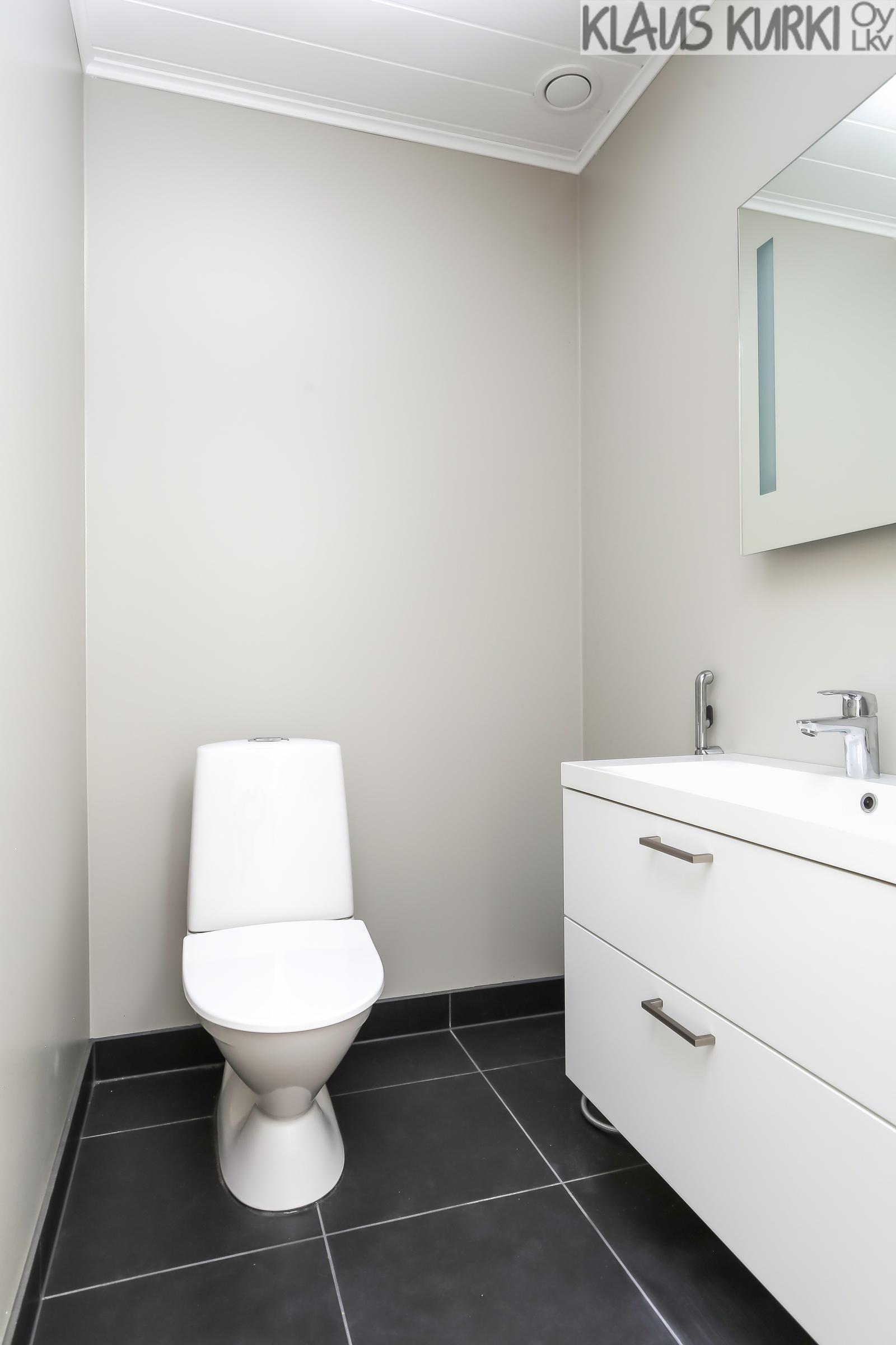 Erillinen wc.