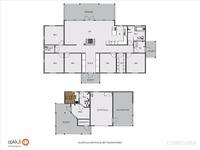 talon ja saunarakennuksen pohjat