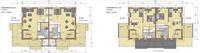 Pohjakuva vaihtoehdot 2 ja 3 kahdella makuuhuoneel