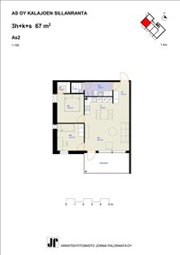 67m² huoneisto I kerros