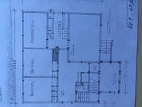 Pohjapiirros  ei vastaa nykyistä tilannetta. Olohuoneen ja keittiön välinen seinä on poistettu.