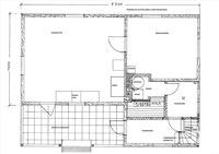 pohja viitteellinen, alakerta, yläkerrass 2 huonet