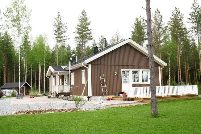 Talonpääty ja nurmikko