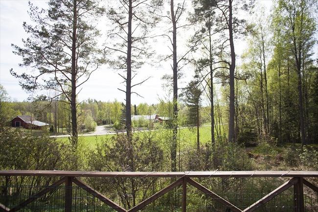 Näkymä terassilta - Vy från terrassen