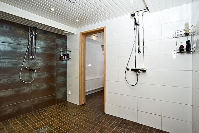 Upea 2013 uusittu saunaosasto.
