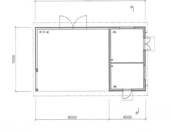 Autotalli+ varasto ja lämminhuone
