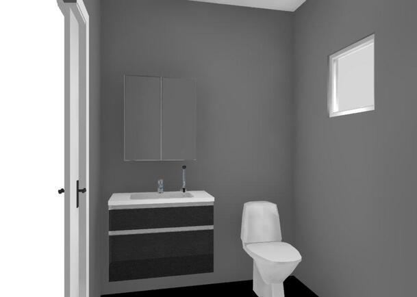 Tulevaa kalustekuvaa wc:stä