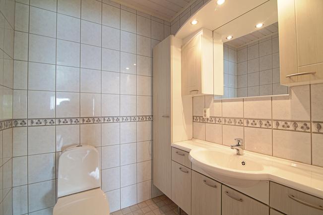 Alakerran huoneiston wc