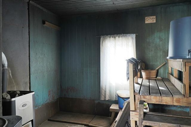 Sauna ulkorakennuksessa