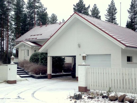 Talo ja autotalli