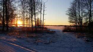 Upeat auringonlaskun