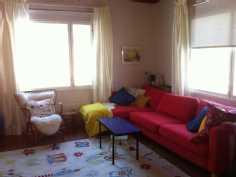 Olohuonetta - mahtuu suurempikin sohva tai vaikka toinen ruokapöytä