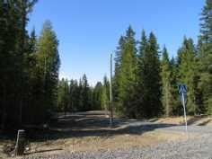 Metsäinen ja moreenipohjainen alue
