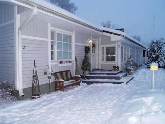Koti talvella