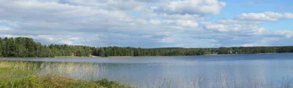 Maisemaa Summasjärvelle