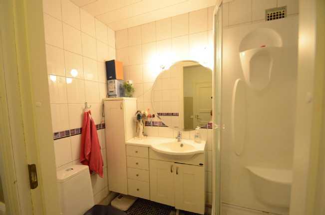 WC, alakerta