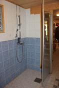 Saunaosaston suihkutila
