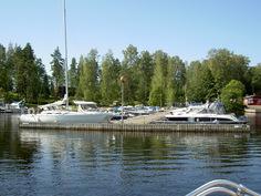 Paikka on veneilijän ja kalastajan unelma.
