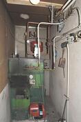 pannuhuone, lämpöjohdot uusittu